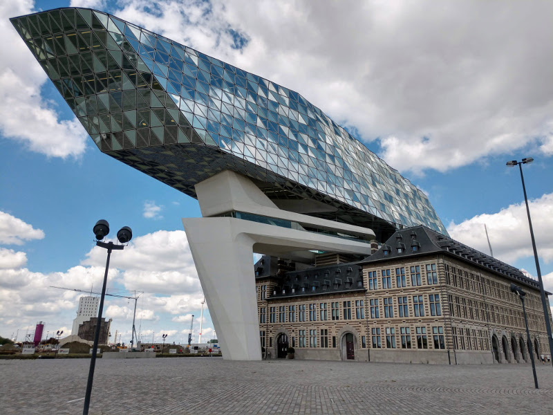 e-Stapper Rondje Antwerpen deel 1
